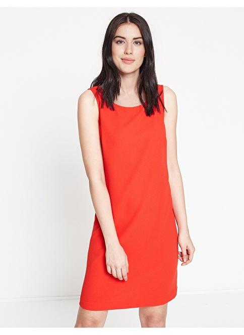 Koton Askılı Kısa Elbise Kırmızı
